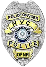 NVC police badge